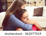 two young girls | Shutterstock . vector #362077019