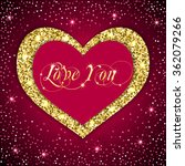 valentine's day card with...   Shutterstock .eps vector #362079266