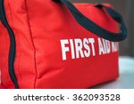 First Aid Kit A Red First Aid...