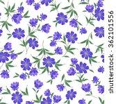 flower illustration pattern | Shutterstock .eps vector #362101556