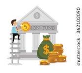 money pension fund | Shutterstock .eps vector #362102090