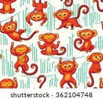 seamless pattern with red...