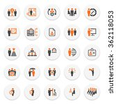 business and management icons... | Shutterstock .eps vector #362118053
