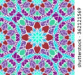seamless pattern with mandala... | Shutterstock .eps vector #362121569