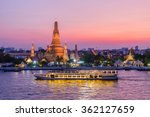 wat arun and cruise ship in... | Shutterstock . vector #362127659