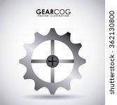 gear wheel design    Shutterstock .eps vector #362130800