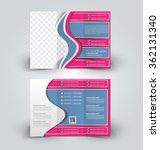 brochure mock up design... | Shutterstock .eps vector #362131340