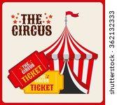 the circus design  | Shutterstock .eps vector #362132333