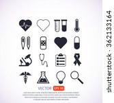 medical icons | Shutterstock .eps vector #362133164