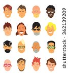 avatar icons set | Shutterstock . vector #362139209