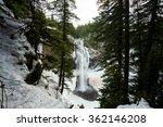 Salt Creek Falls On Willamette...