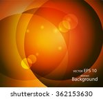 abstract colorful circles.... | Shutterstock .eps vector #362153630