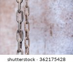 old chains | Shutterstock . vector #362175428