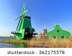 Traditional Dutch Village With...