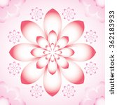 chinese style flower pattern  ... | Shutterstock .eps vector #362183933