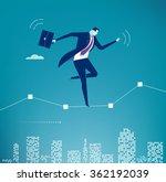 balance. business illustration. ... | Shutterstock .eps vector #362192039