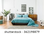 interior of cozy bedroom in... | Shutterstock . vector #362198879