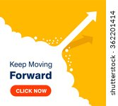 click here for keep moving... | Shutterstock .eps vector #362201414