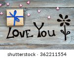 gift boxes  handmade flower and ...   Shutterstock . vector #362211554