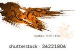 elegant vector background with... | Shutterstock .eps vector #36221806