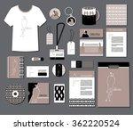 corporate identity templates... | Shutterstock .eps vector #362220524