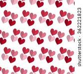 vector celebratory love pattern ... | Shutterstock .eps vector #362221823