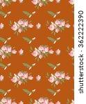 floral magnolia retro vintage... | Shutterstock .eps vector #362222390