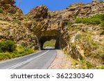 mountain pass road tunnel... | Shutterstock . vector #362230340