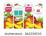 mango juice template packaging... | Shutterstock .eps vector #362234510