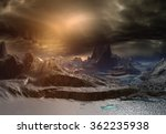 Alien Planet   Fantasy Landscape