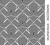 design seamless monochrome... | Shutterstock .eps vector #362236646