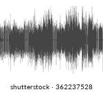 dark gray abstract digital... | Shutterstock .eps vector #362237528