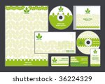 abstract letterhead template... | Shutterstock .eps vector #36224329