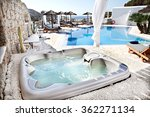 Jacuzzi With A Swimming Pool I...