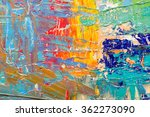 Small photo of Abstract art background. Hand-painted background. SELF MADE.