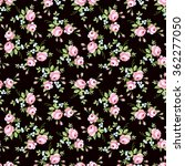 seamless floral pattern with... | Shutterstock .eps vector #362277050