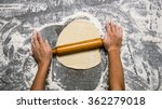 preparation of the dough . the... | Shutterstock . vector #362279018