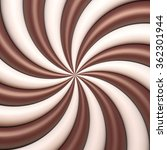 abstract chocolate and cream... | Shutterstock .eps vector #362301944
