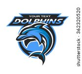 dolphin logo  emblem for a... | Shutterstock .eps vector #362320520