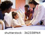 pediatrician visiting parents... | Shutterstock . vector #362338964