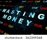 currency concept  wasting money ... | Shutterstock . vector #362349368