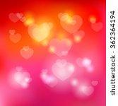 valentine day bright background ... | Shutterstock .eps vector #362364194