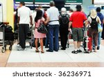 airport crowd | Shutterstock . vector #36236971