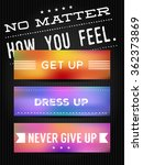 vector poster with... | Shutterstock .eps vector #362373869