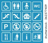 public icons set | Shutterstock . vector #362377409