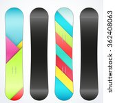 snowboard sample symbols for... | Shutterstock . vector #362408063