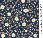 sunflower flower seamless... | Shutterstock .eps vector #362422916