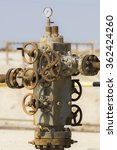 Small photo of wellhead assembly of oil well in Bahrain