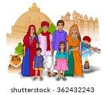 vector design of madhya... | Shutterstock .eps vector #362432243
