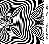 abstract distorted hypnotic... | Shutterstock . vector #362472350